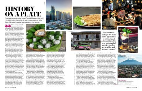 Download PDF: History on a Plate, Published in Conde Nast Traveller Middle East, July 2015