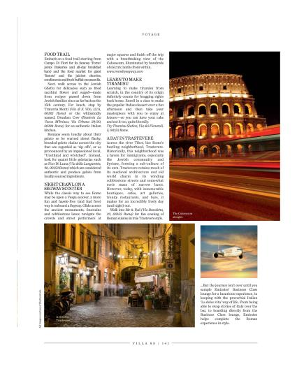 Download PDF: Published in villa 88 Magazine, September 2015 issue